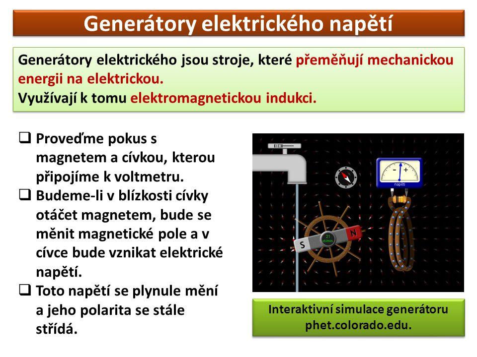 Generátory elektrického napětí