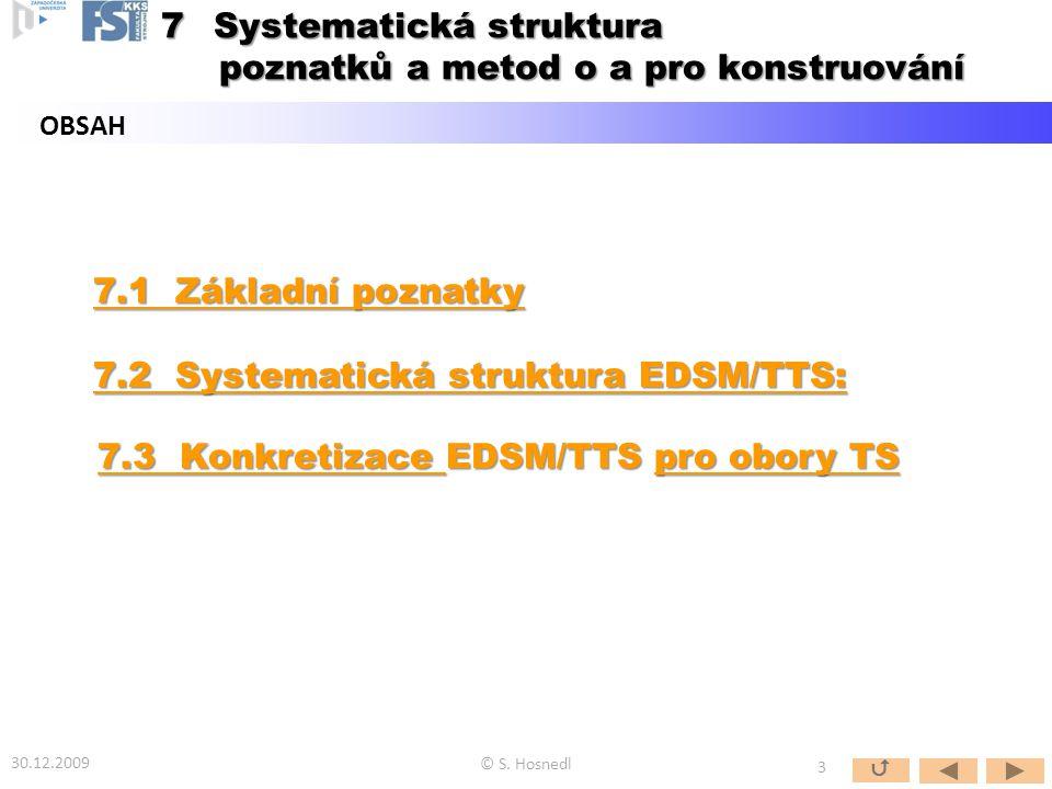 Systematická struktura poznatků a metod o a pro konstruování