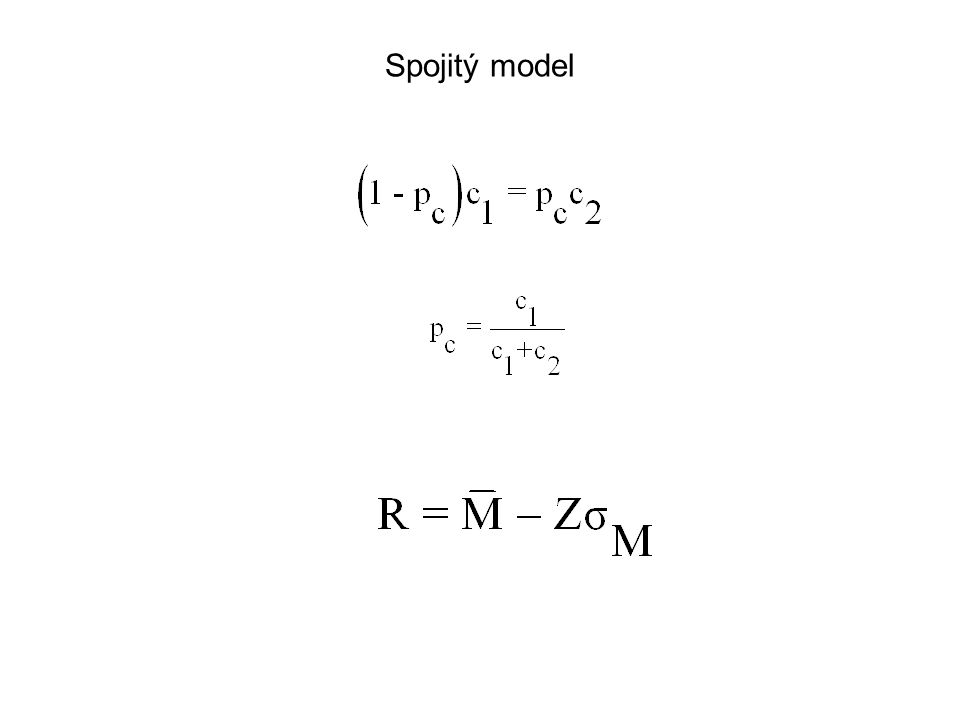 Spojitý model
