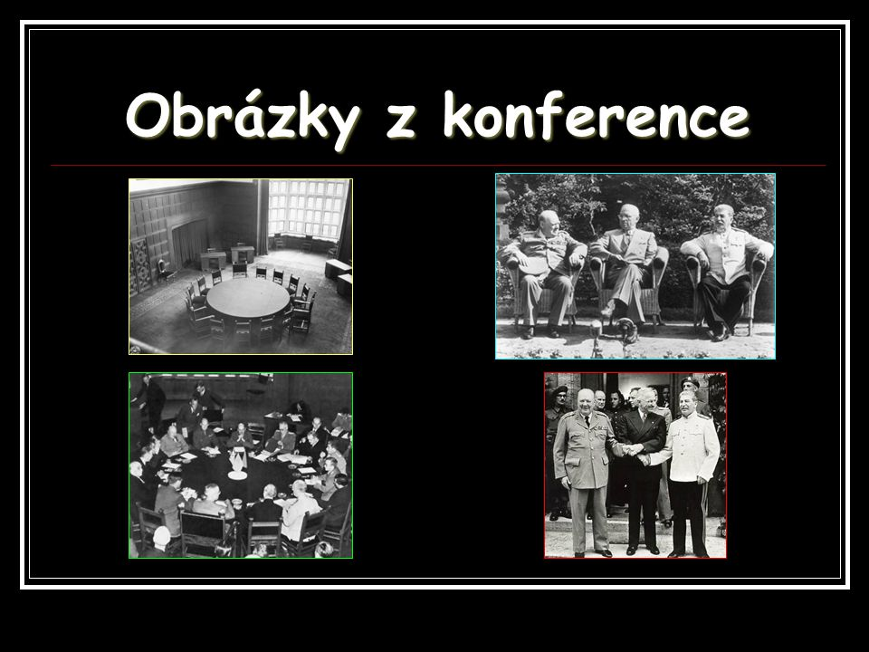 Obrázky z konference