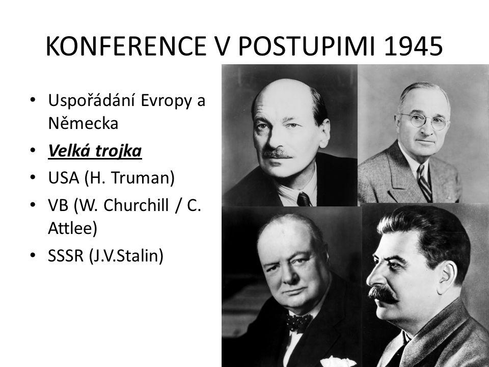 KONFERENCE V POSTUPIMI 1945
