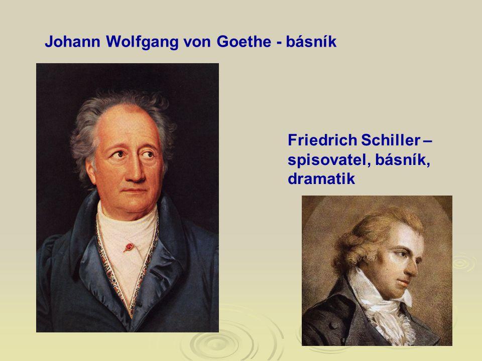 Johann Wolfgang von Goethe - básník