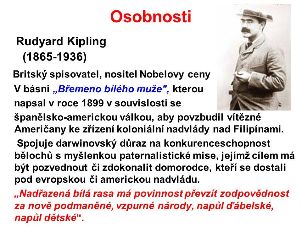 Osobnosti Rudyard Kipling (1865-1936)