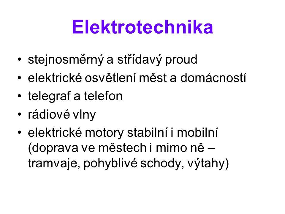 Elektrotechnika stejnosměrný a střídavý proud