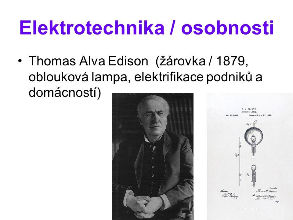 Elektrotechnika / osobnosti