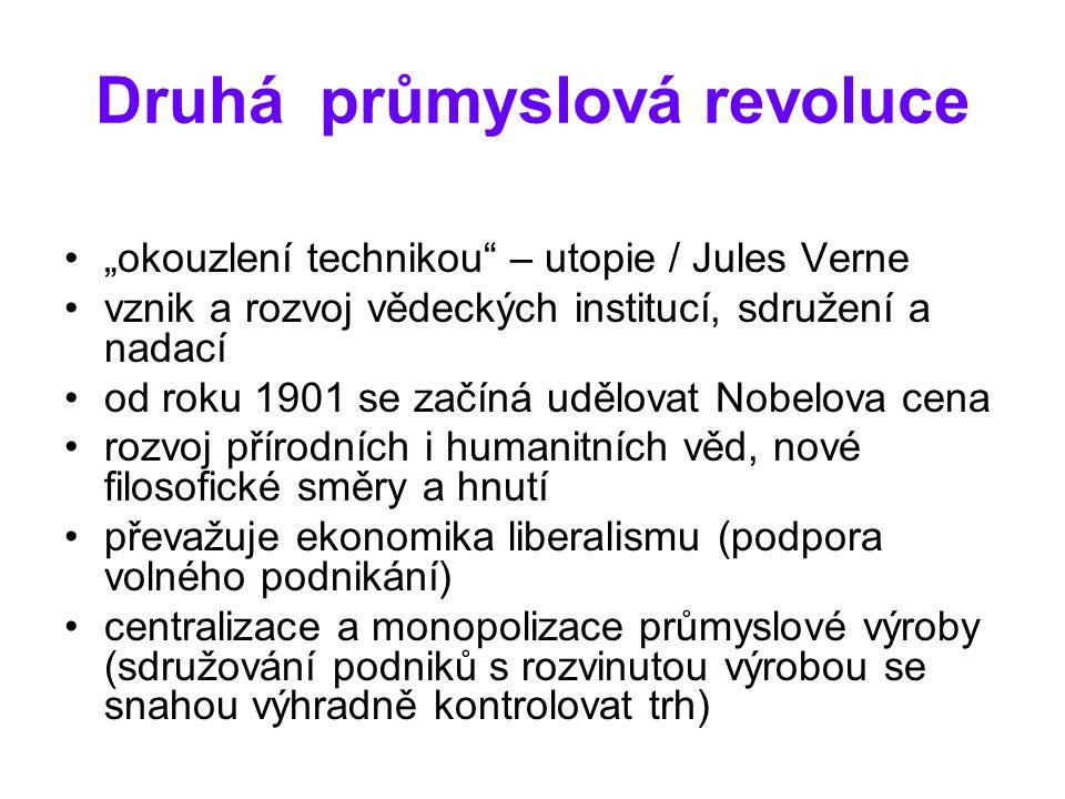 Druhá průmyslová revoluce