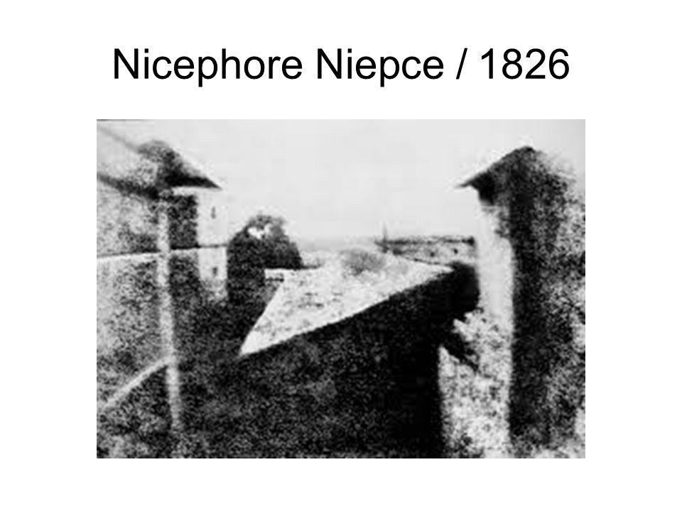 Nicephore Niepce / 1826