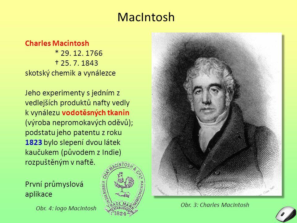 Obr. 3: Charles MacIntosh