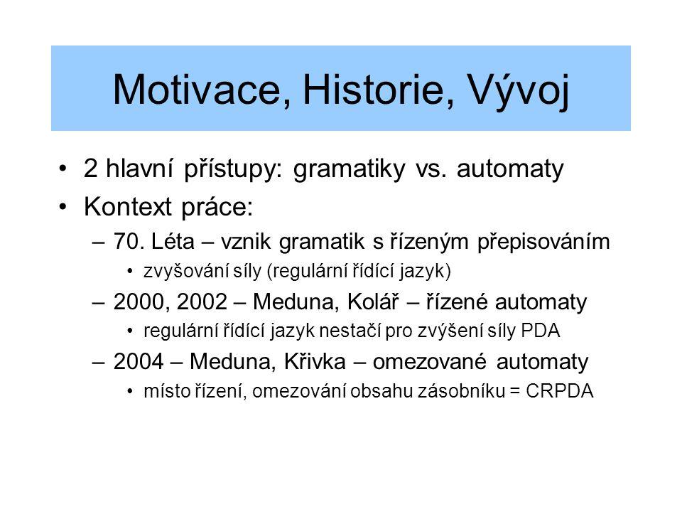 Motivace, Historie, Vývoj