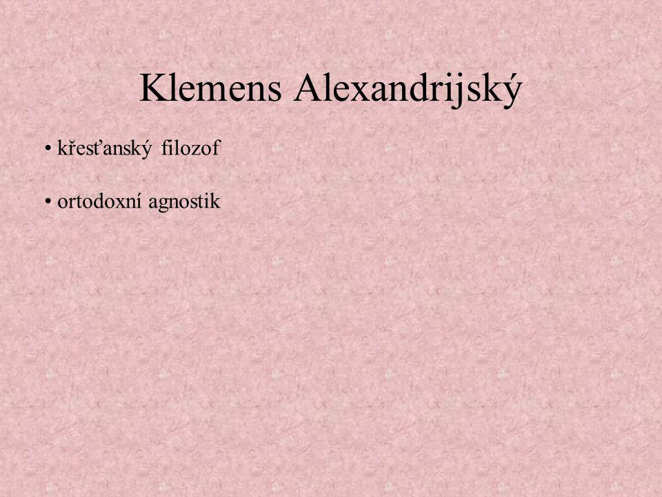 Klemens Alexandrijský