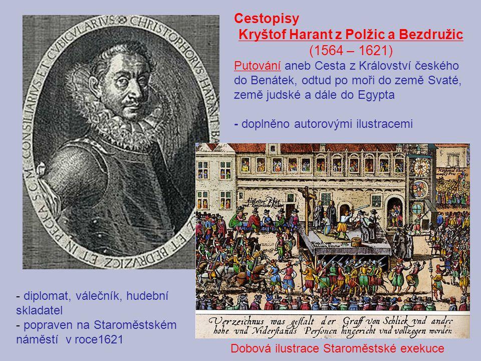 Kryštof Harant z Polžic a Bezdružic (1564 – 1621)