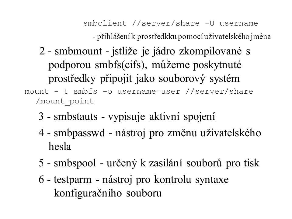 smbclient //server/share -U username