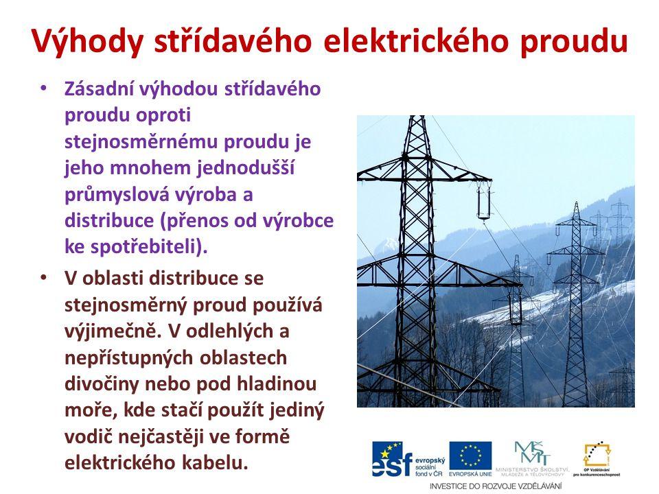 Výhody střídavého elektrického proudu