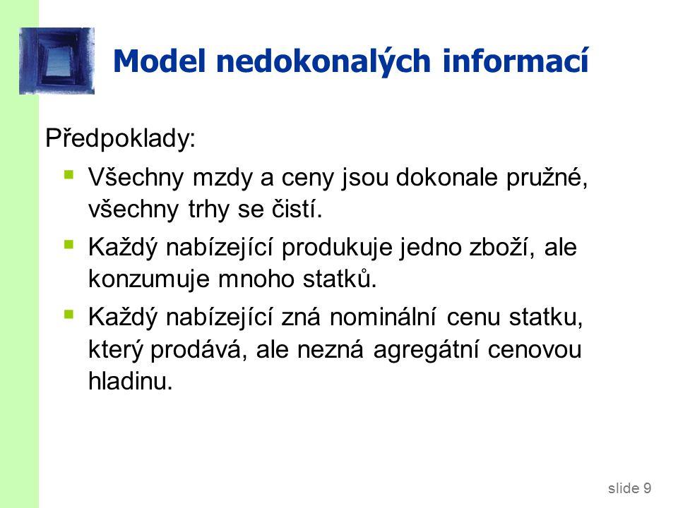 Model nedokonalých informací