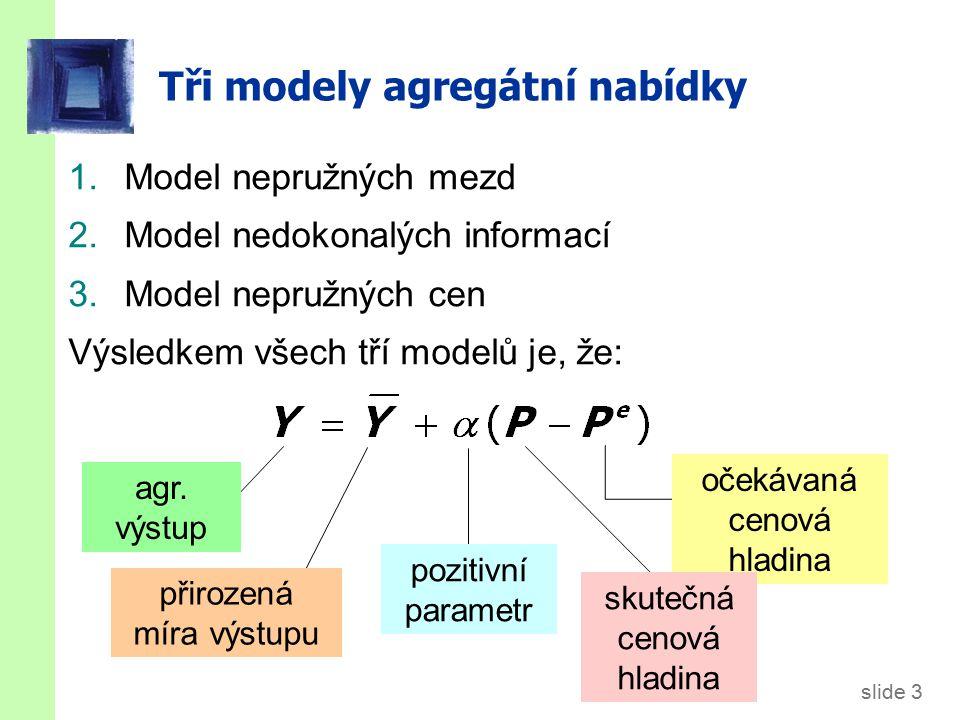 Model nepružných mezd