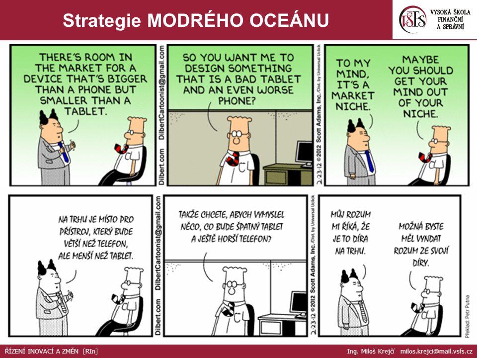 Strategie MODRÉHO OCEÁNU