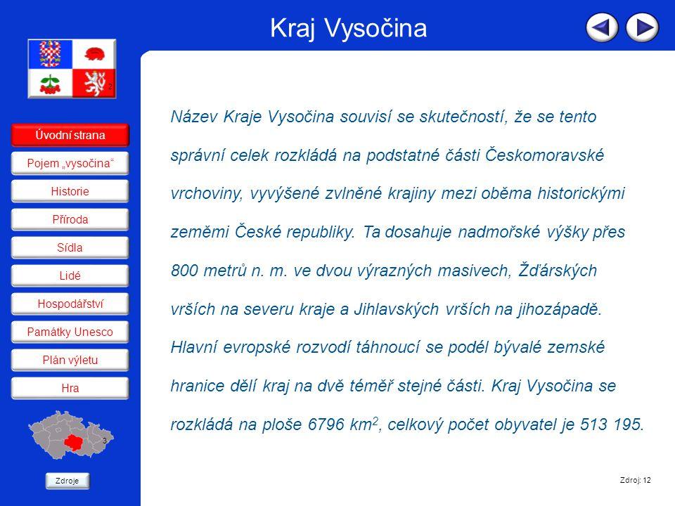 Kraj Vysočina 2.