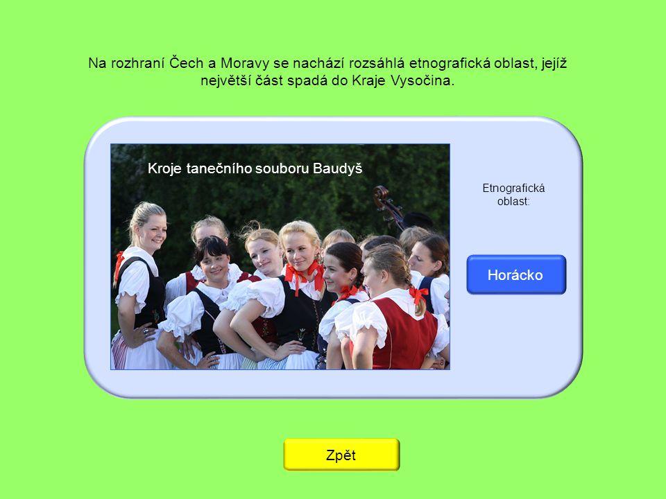Kroje tanečního souboru Baudyš