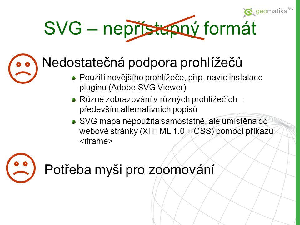 SVG – nepřístupný formát