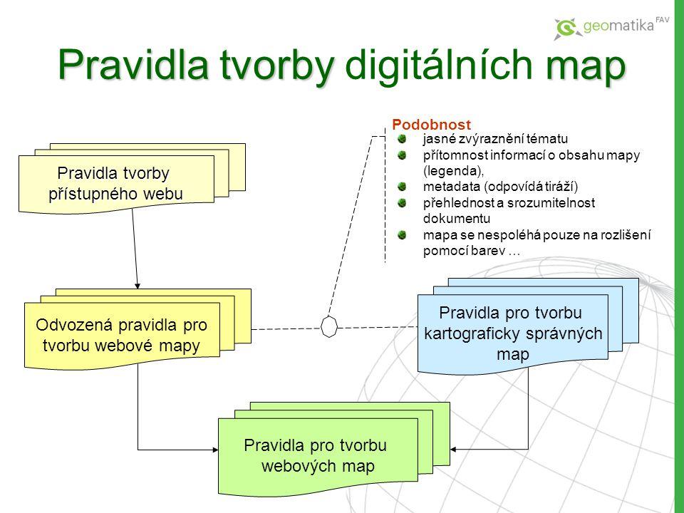 Pravidla tvorby digitálních map