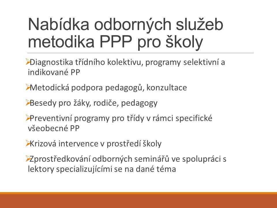 Nabídka odborných služeb metodika PPP pro školy