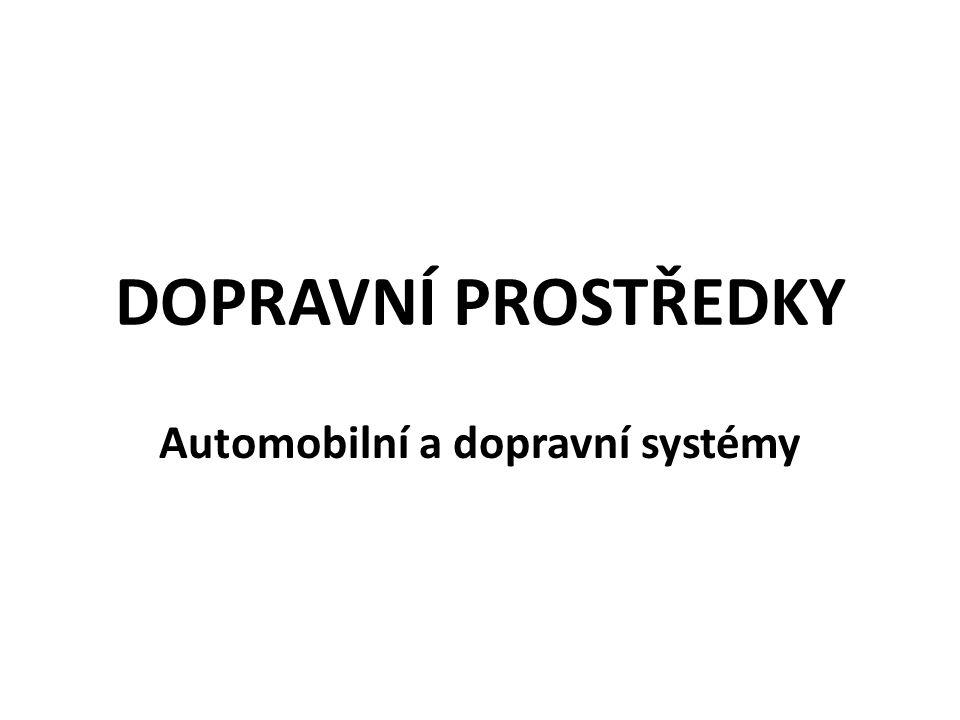 Automobilní a dopravní systémy