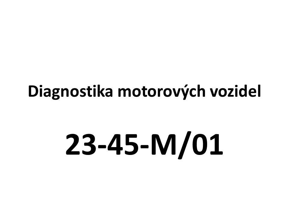 Diagnostika motorových vozidel