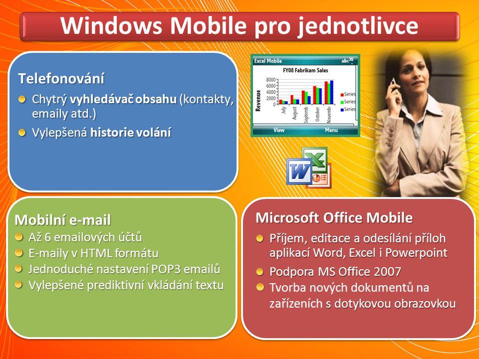 Windows Mobile pro jednotlivce