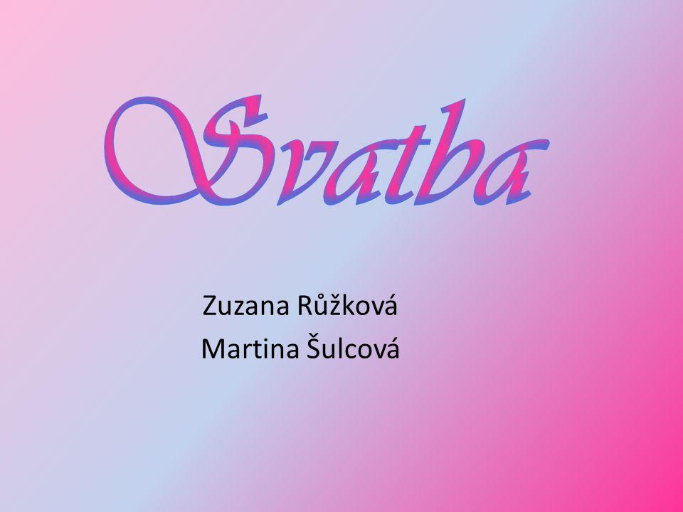 Zuzana Růžková Martina Šulcová