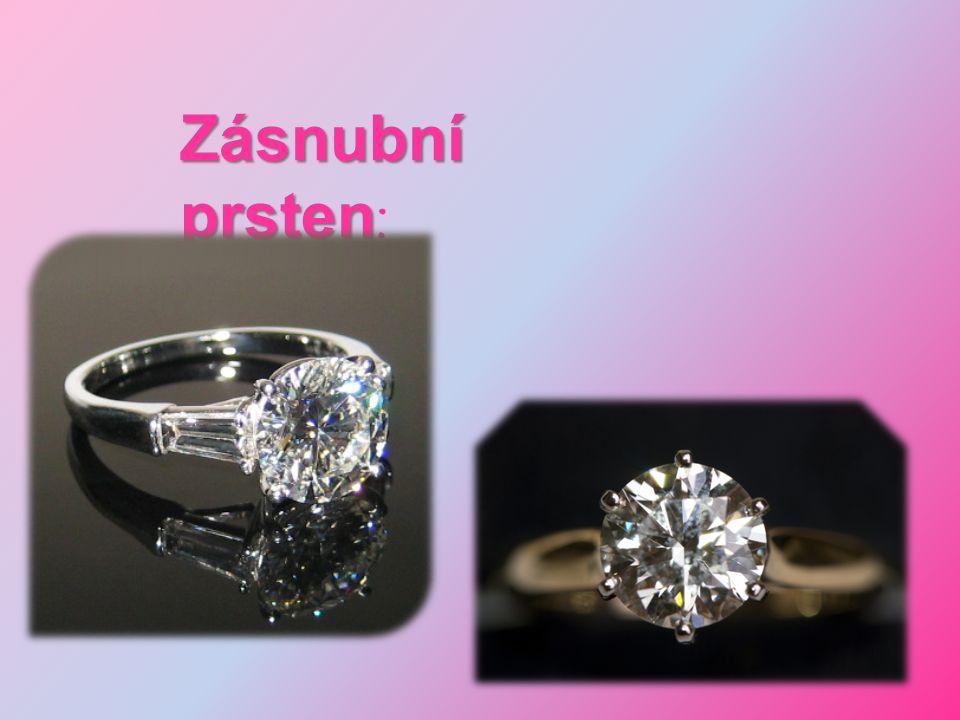 Zásnubní prsten: