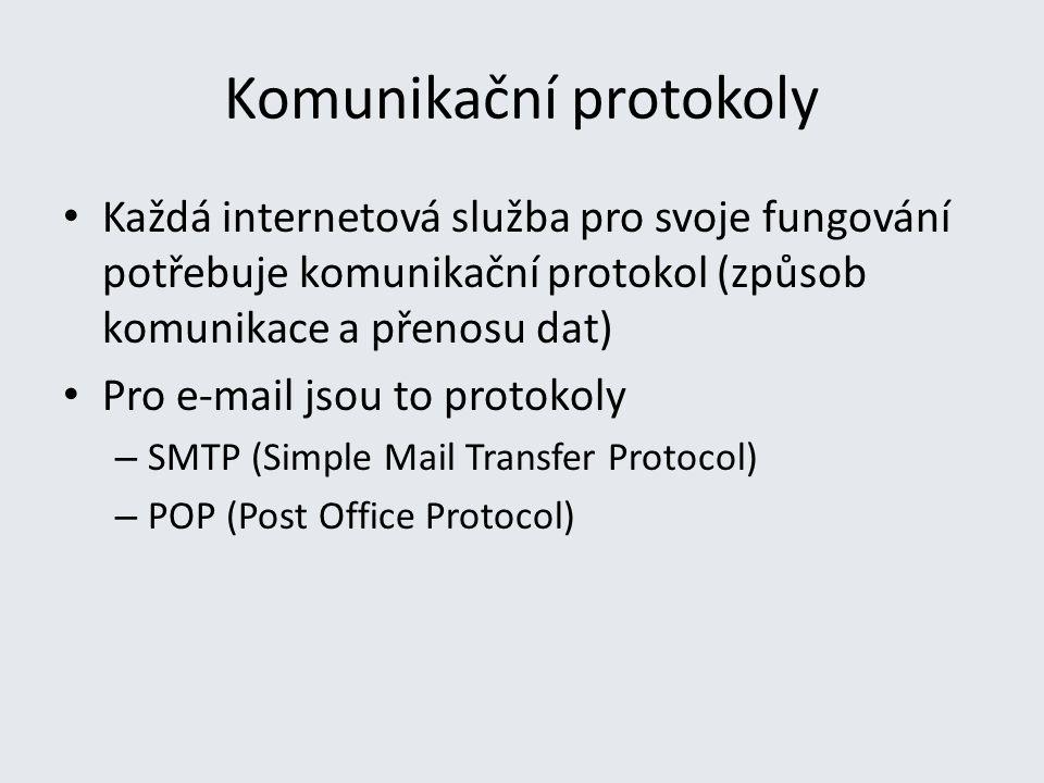 Komunikační protokoly