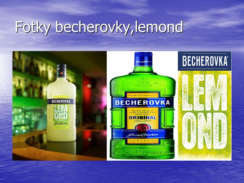 Fotky becherovky,lemond