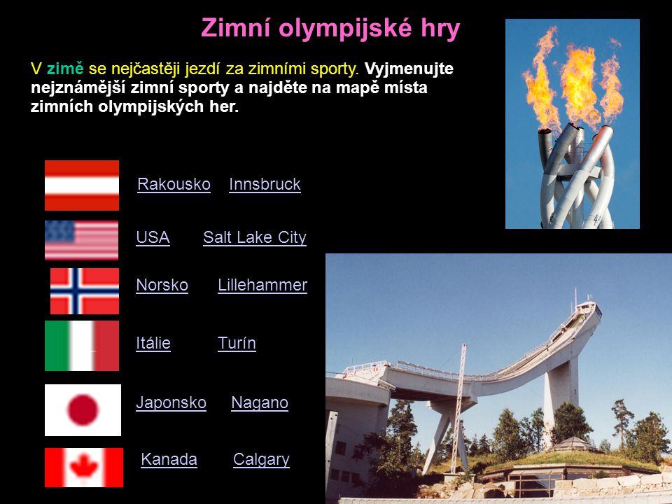 Zimní olympijské hry