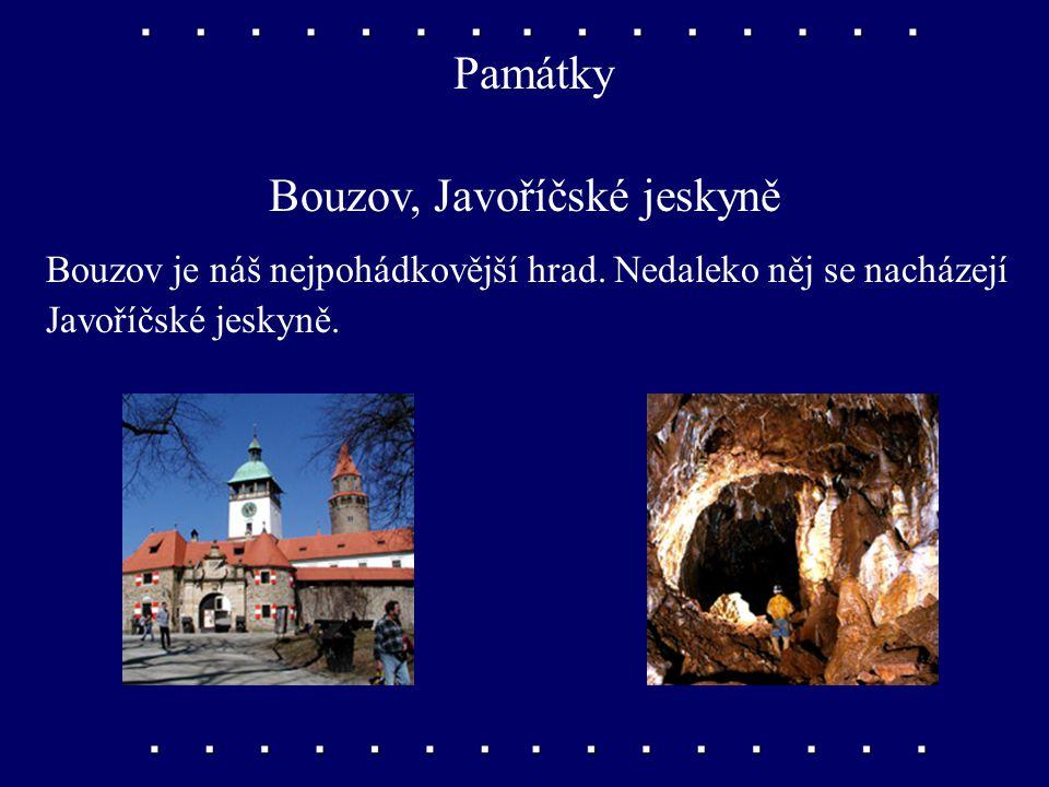 Bouzov, Javoříčské jeskyně