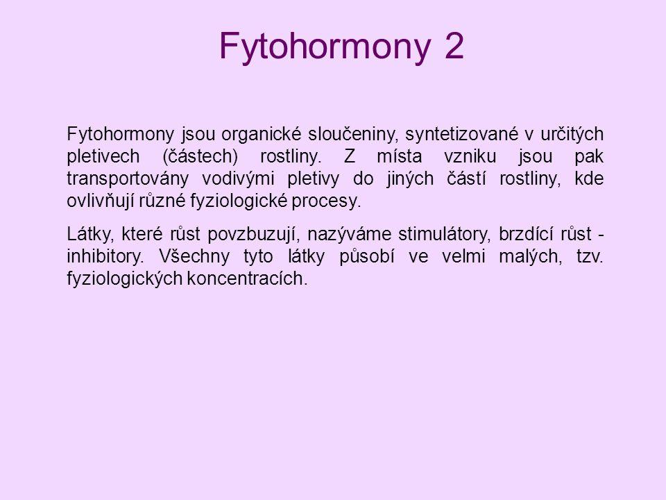 Fytohormony 2