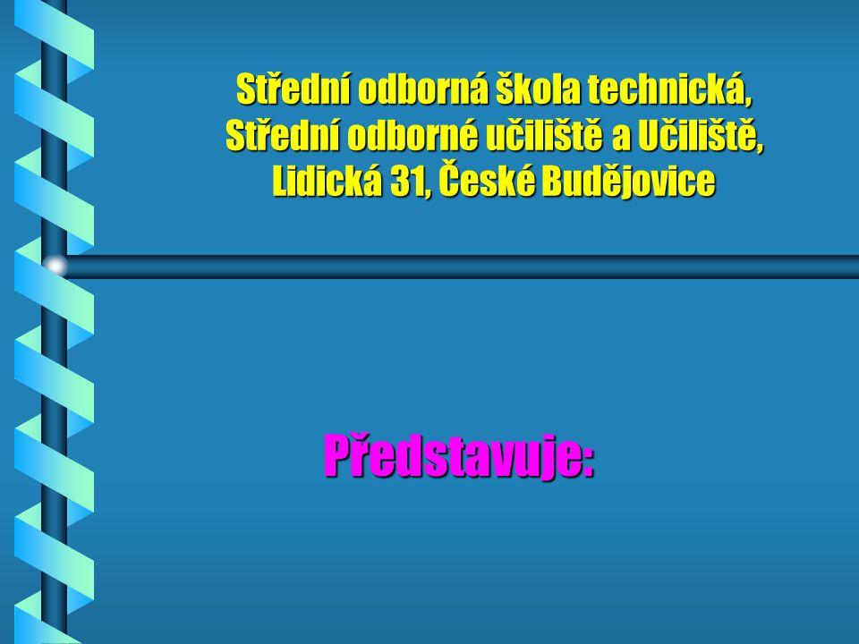 Střední odborná škola technická, Střední odborné učiliště a Učiliště, Lidická 31, České Budějovice