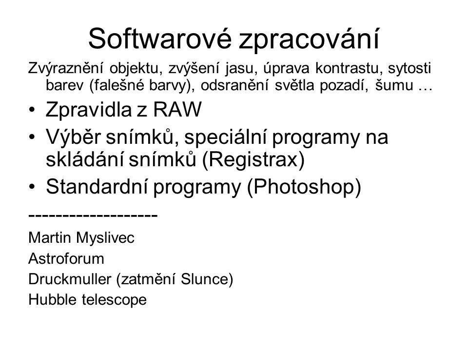 Softwarové zpracování
