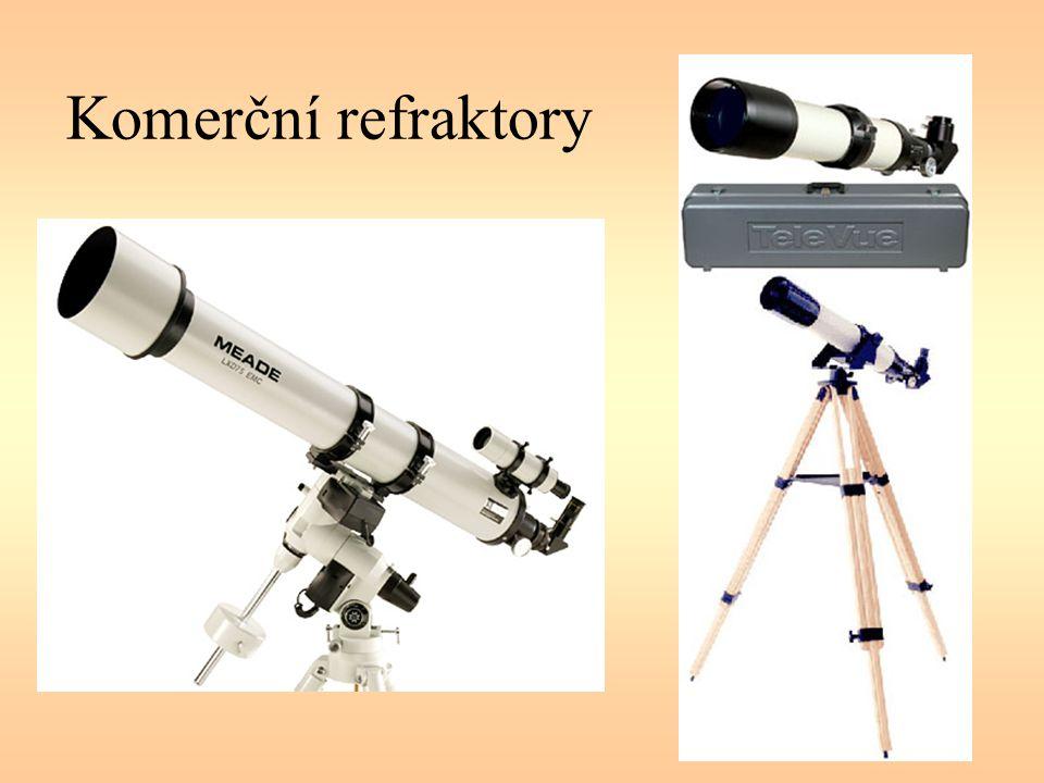 Komerční refraktory