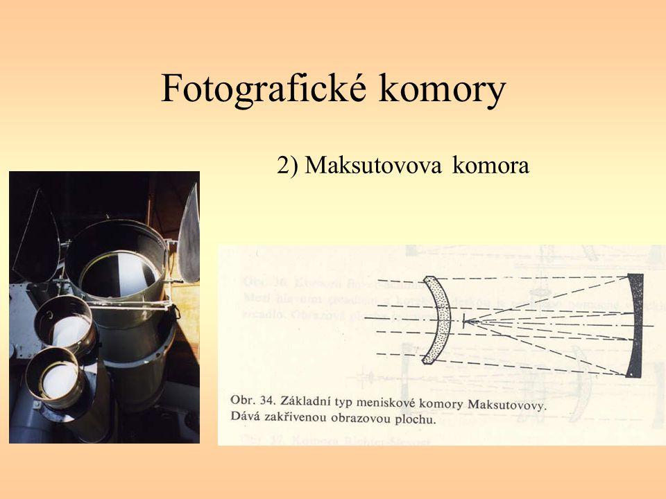 Fotografické komory 2) Maksutovova komora