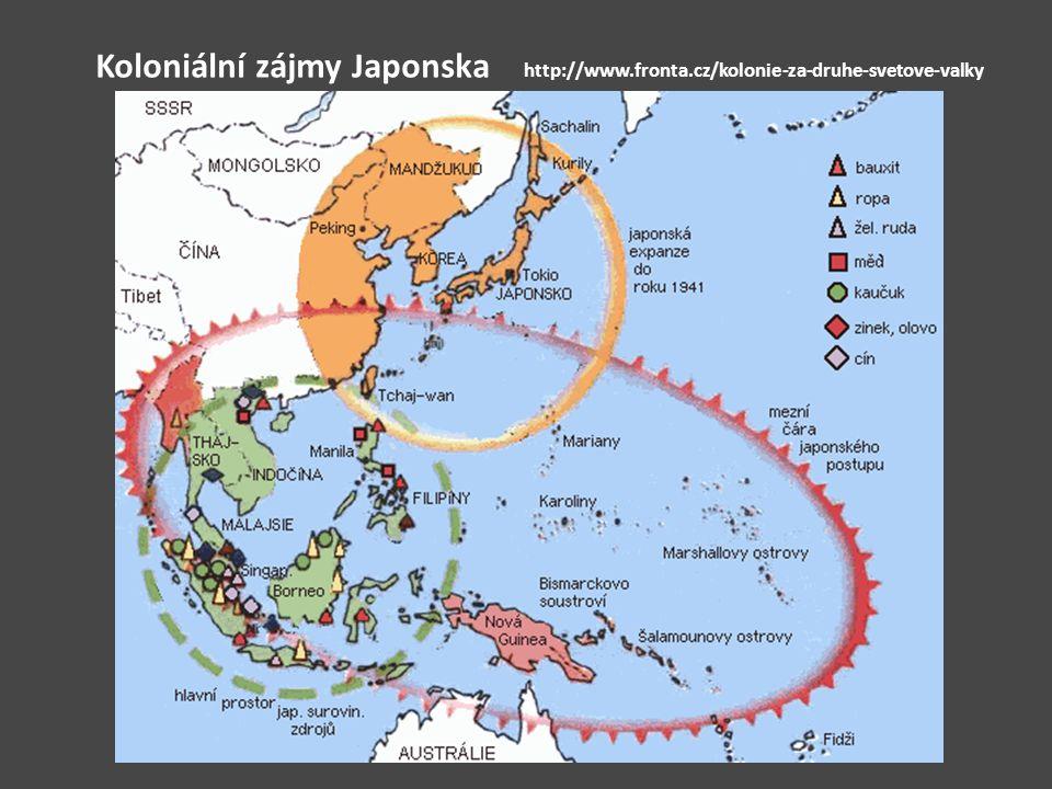 Koloniální zájmy Japonska. http://www. fronta
