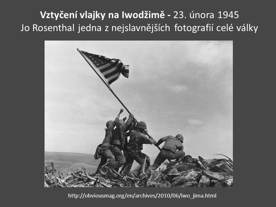 Vztyčení vlajky na Iwodžimě - 23