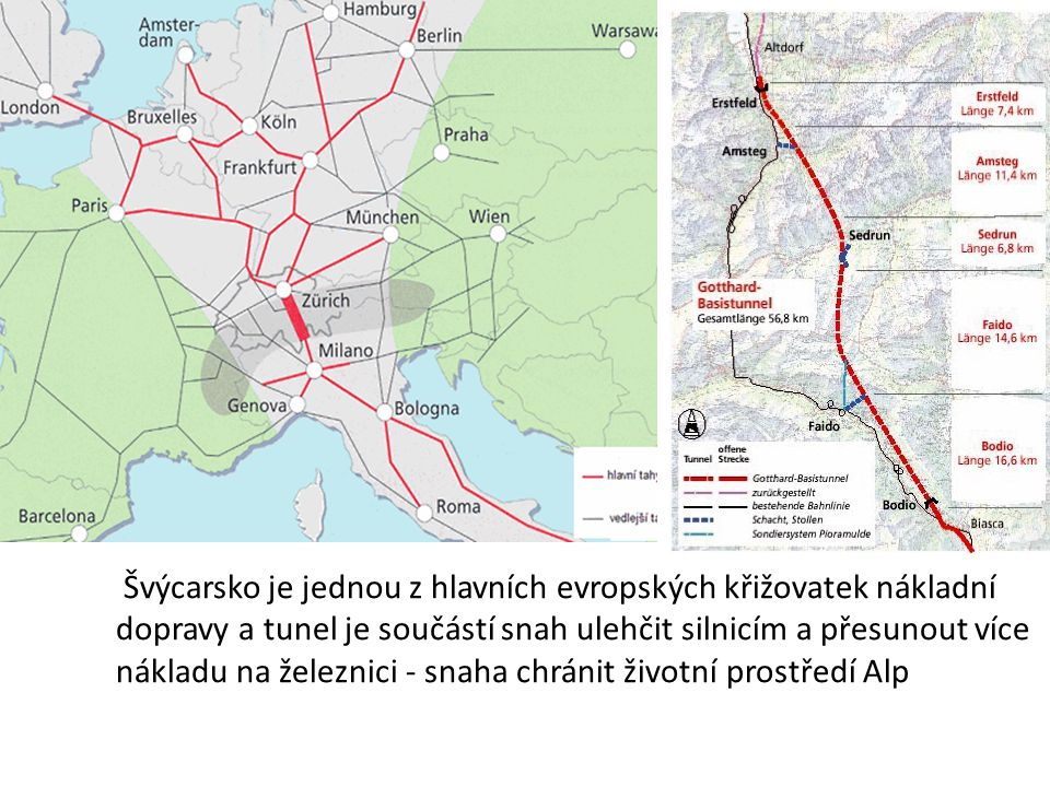 Tři nejdelší železniční tunely na světě