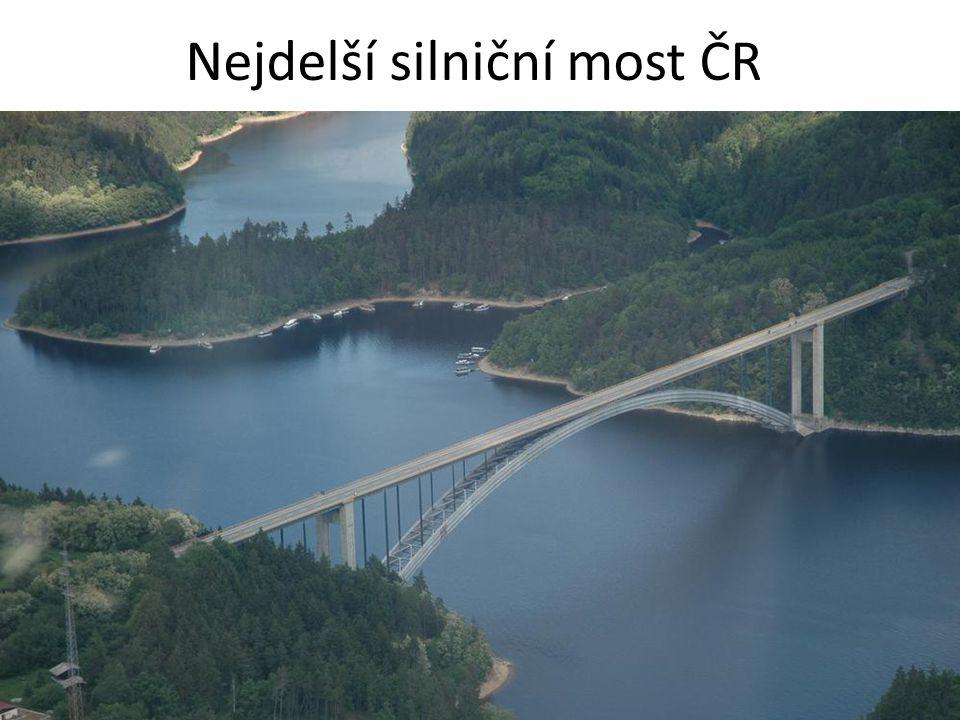 Nejdelší silniční most ČR