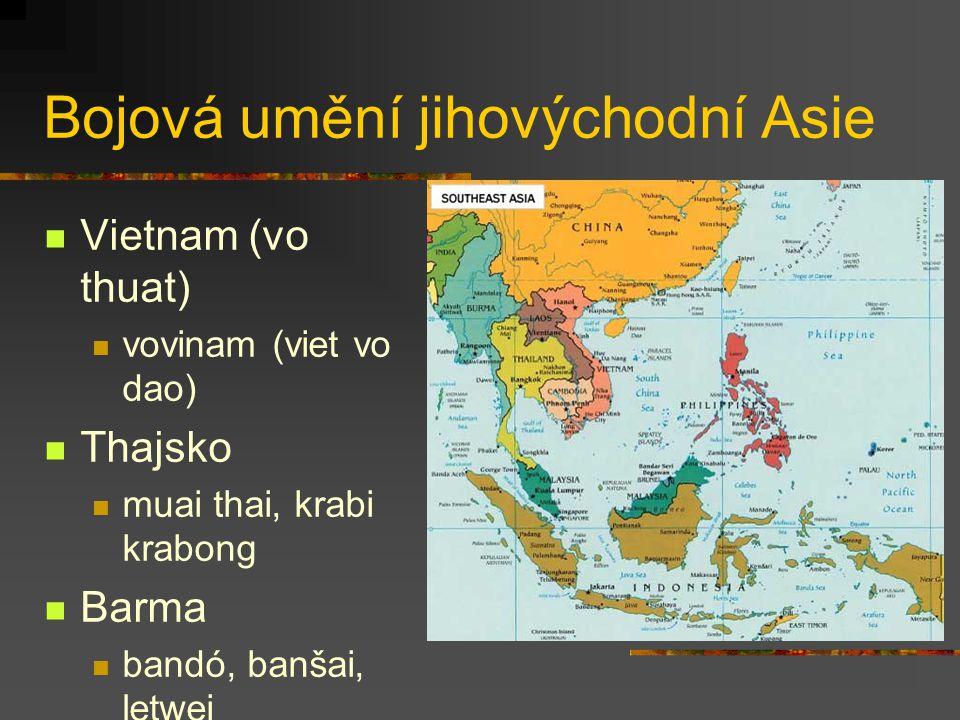 Bojová umění jihovýchodní Asie