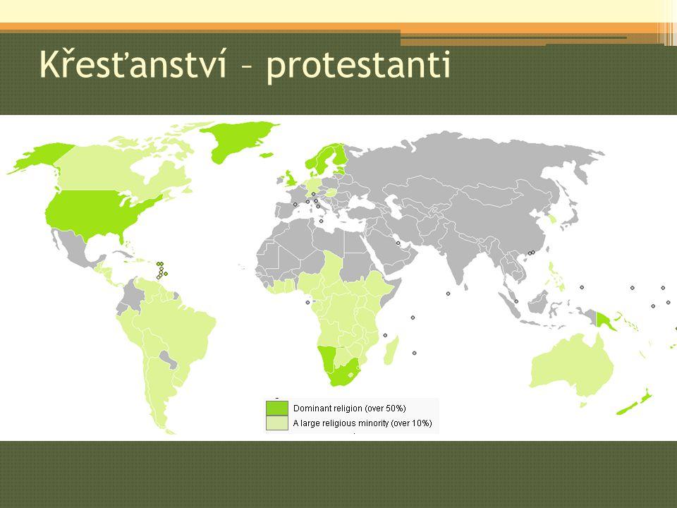 Křesťanství – protestanti