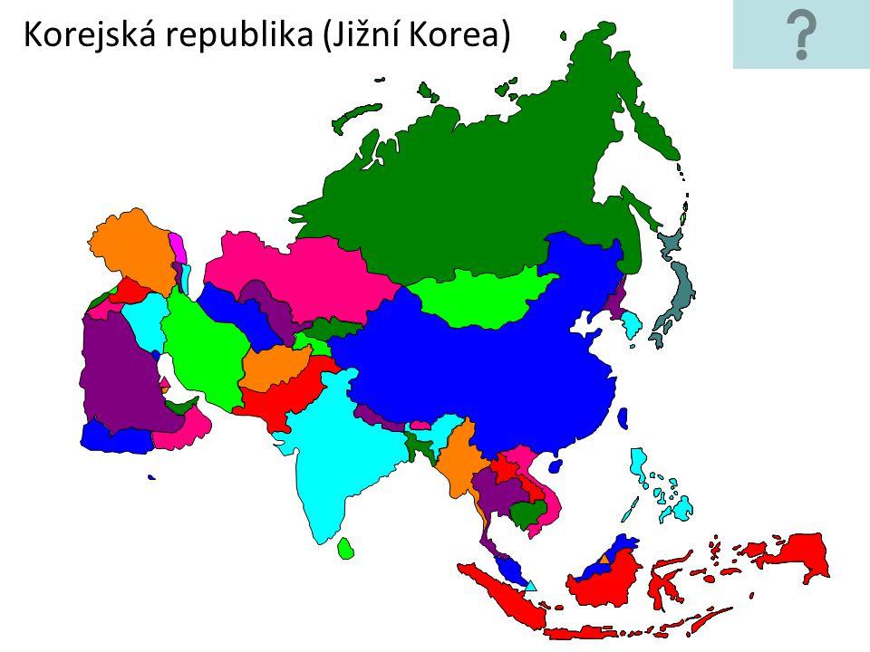 Korejská republika (Jižní Korea)