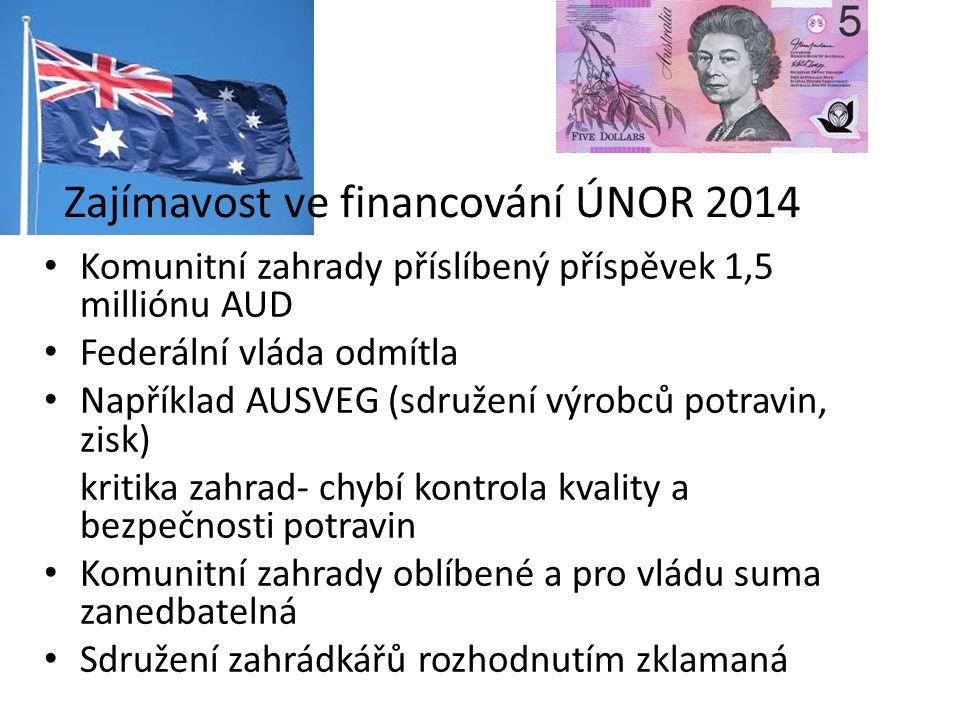 Zajímavost ve financování ÚNOR 2014