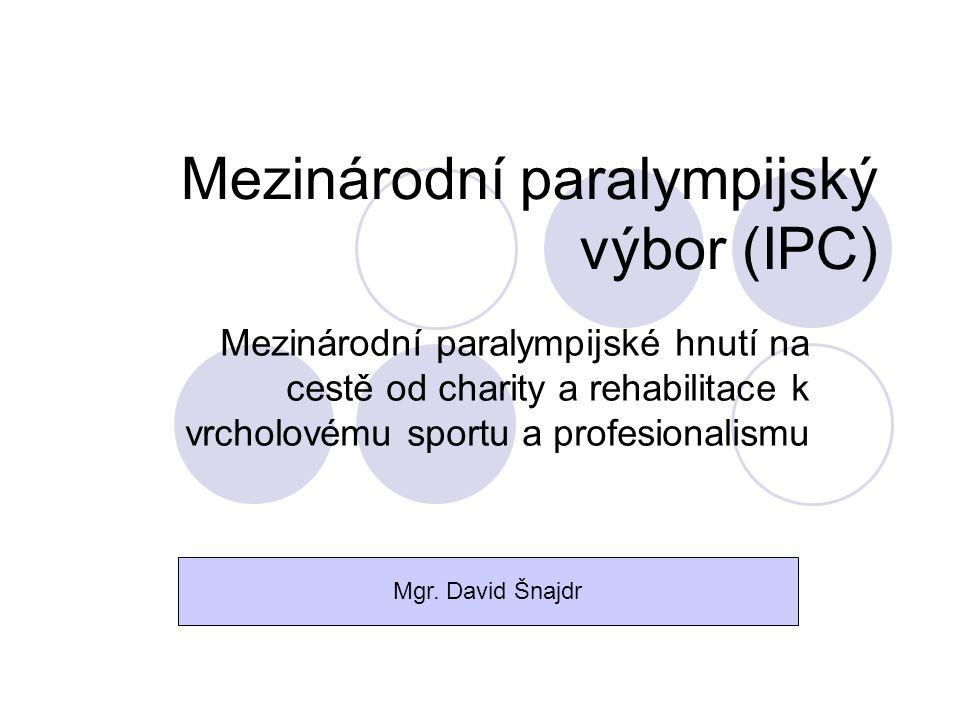 Mezinárodní paralympijský výbor (IPC)