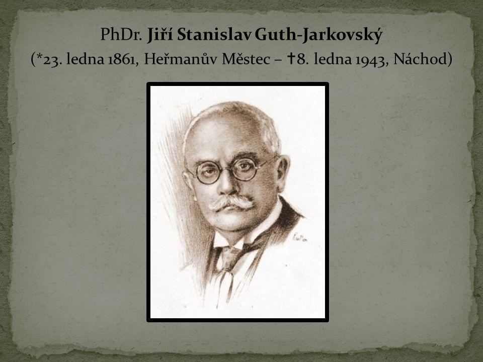 PhDr. Jiří Stanislav Guth-Jarkovský