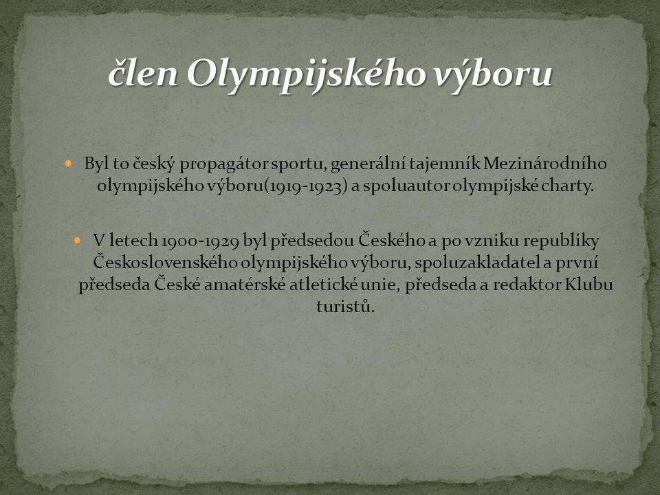 člen Olympijského výboru